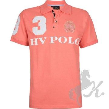 Panske tricko Favouritas Coral Pink - front.jpg